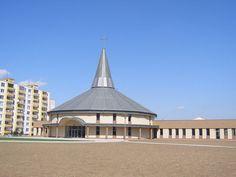 Slovakia, Senica - Modern church