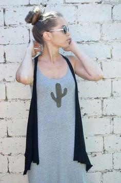 Trends items. Boho fashion. Succulent t-shirt .   Here is a simple, but original iron on patch applique in the form of cactus. Applique succulent is