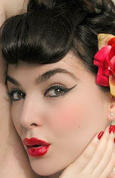 Vintage Pinup Makeup
