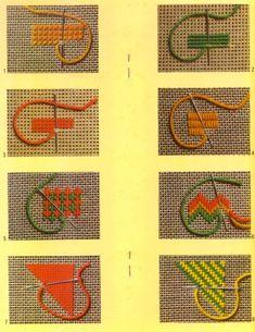 Pinned using PinFace! Hardanger Embroidery, Folk Embroidery, Hand Embroidery Stitches, Modern Embroidery, Embroidery Techniques, Cross Stitch Embroidery, Embroidery Patterns, Plastic Canvas Stitches, Plastic Canvas Patterns
