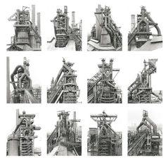 Bernd & Hilla Becher - Blast furnaces