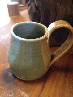 Handmade Pottery Coffee Mug by BearTracksTradingCo on Etsy, $13.99