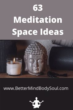 There are so many ideas about creating your own meditation space. Here are 63 Meditation space ideas that may give you running start to owning your own peaceful meditation space. #meditation #meditationspace #meditationeveryday #meditationtools #meditationinspiration #meditationflow