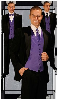 purple mens vest by ForeverYoursbytracey on Etsy, $45.00