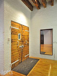 Repurposed doors