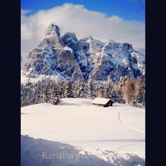 the beauty of the Dolomites