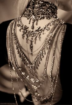 Back jewelry - Ralph Lauren (Autumn/Winter 2012)