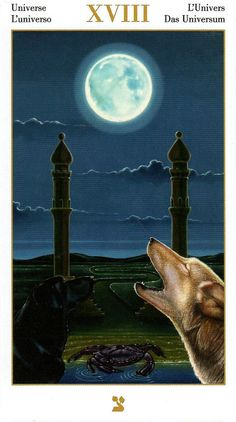 Universe (The Moon) - Contemplative Tarot