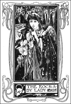 The Rock-A-By Lady - Lullaby-Land by Eugene Field, 1898