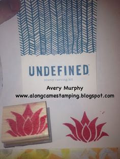 Along Came Stamping: Undefined Stamp Carving Kit - Lotus Flower - Stampin' Up!