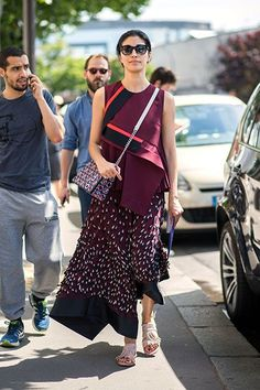 Level Up From That Ubiquitous Origami Skirt Everyone Wore Last Year #refinery29  http://www.refinery29.com/origami-fashion#slide-6  Do not adjust your screens: This is what happens when everything's at at 45-degree tilt — and we like it!...