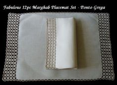 Ahhhh!! Marghab placemat set!