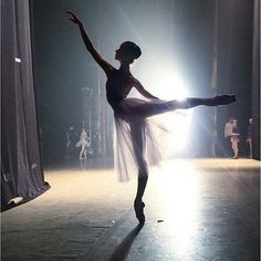"joaquinmoralperez: "" The art of Ballet appears when everything else is invisible, except for the ballerina. Photo from @igforballerinas. #ballet #dance #ballerina #dancer #instadance #lovedance..."