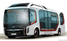 Tata Ultra Electric Bus Concept makes environmentally efficient public transport fresh and visually interesting through an expressive design