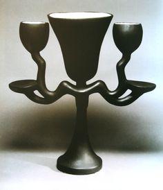 Jean-Michael Frank - Toutankhamon lamp, with Alberto and Diego Giacometti.