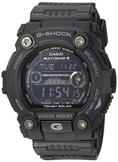 Casio Men's GW7900B-1 G-Shock Black Solar Sport Watch Casio