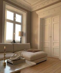 "stargirl on Twitter: ""… "" Dream Home Design, Home Interior Design, House Design, Interior Concept, Design Room, Contemporary Interior Design, Interior Modern, Dream Apartment, Parisian Apartment"