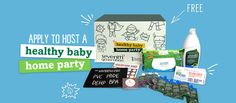 Apply to Host a Healthy Baby Home Party! # GenerationGood