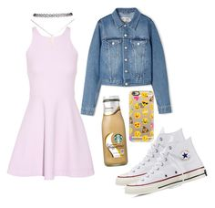 """"""" Cute """" by lousworld on Polyvore featuring moda, Acne Studios, Elizabeth and James, Converse, Wet Seal i Casetify"""