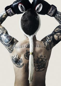 Awesome Muay Thai ink