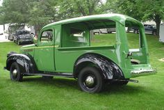 1946 Chevrolet Canopy Express