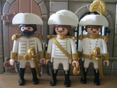 Playmobil 3 Soldats Bustes Imprimes Customs Rare | eBay