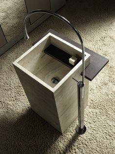 Gessi goccia monomando de lavabo exento acabado cromo, mas información en www.gessi.it