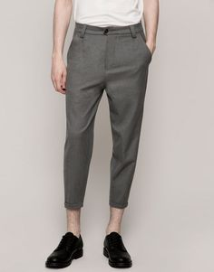 Pull&Bear - hombre - pantalones - pantalon tipo chino vestir - perla vig - 09682540-I2015