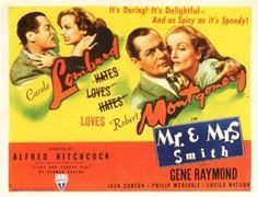 Mr. and Mrs. Smith, 1941 movie poster