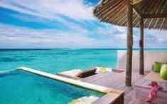 Pool or ocean? Laamu Water Villa with pool Six Senses Laamu Maldives Samana, Maldives Resort, Resort Spa, Maldives Travel, Bali Travel, Best Resorts, Hotels And Resorts, Water Villa, Overwater Bungalows