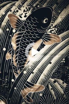 Traditional japanese tattoos for women. Would make a great edition to my sleeve for the water element. Japanese Tattoo Women, Japanese Tatoo, Traditional Japanese Tattoos, Japanese Tattoo Designs, Japanese Sleeve Tattoos, Best Sleeve Tattoos, Japanese Design, Japanese Artwork, Japanese Koi