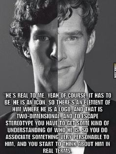 Benedict talking about Sherlock