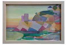 Cubist Mediterranean Cove on OneKingsLane.com