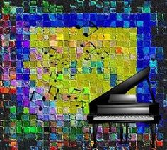 Musical Quilt by Carola Ann-Margret Forsberg Ann Margret, Musicals, Projects To Try, Digital Art, Greeting Cards, Inspirational, Quilts, Wall Art, Artwork