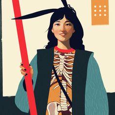 """Popatrz na ten projekt w @Behance: """"Portraits"""" https://www.behance.net/gallery/51716971/Portraits"""
