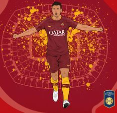 As Roma, Fifa, Basketball Court, Sports, Movies, Movie Posters, Soccer, Hs Sports, Films