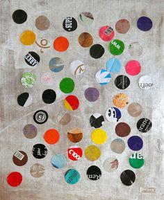 art and handmade originals Jute, Polka Dots, My Arts, Collage, Kids Rugs, Originals, Handmade, Home Decor, Collages