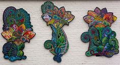 """Unfurled"", a collaborative glass mosaic created by over fifty professional mosaic artists, has been installed in the heart of Southend Charlotte, NC"
