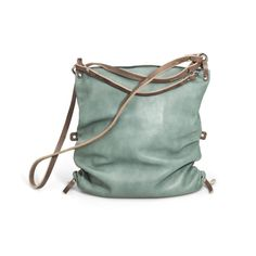 Ad LIB4 'mint' leather bag by INA KENT