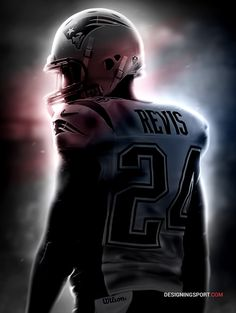 "Darrelle Revis, New England Patriots — NFL 'Atmosphere' 16x20"" Poster Series"