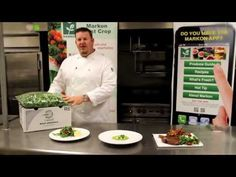Food Trends video from Nicholas and Company - Fresh Arugula from Markon