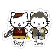 Daryl Dixon & Carol - the walking dead