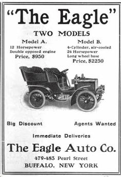 1905 Eagle Automobile Advertisement