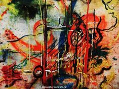 Jackson Pollock Peggy Guggenheim Burning Landscape New Haven Yale, Peggy Guggenheim, Jackson Pollock, Tribal Art, Old And New, Folk Art, Art Gallery, University, Rooms
