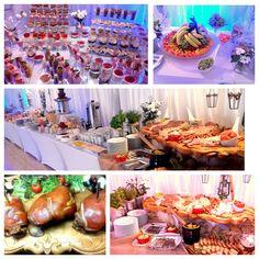 Bufety tematyczne, bufet wiejski, mini deserki, udźce, fontanna czekoladowa, bufety owocowe, candy bar