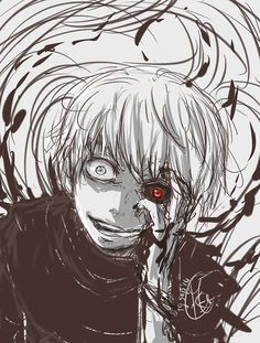 Kaneki Ken - Nee, It's oke if I eat you right?! by Chengggg