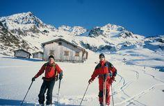 Skitourengebiet Kristberg im Montafon in Vorarlberg www.kristberg.at