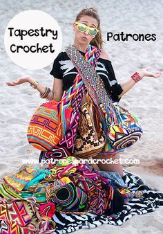 "New Cheap Bags. The location where building and construction meets style, beaded crochet is the act of using beads to decorate crocheted products. ""Crochet"" is derived fro Love Crochet, Diy Crochet, Crochet Crafts, Crochet Projects, Simple Crochet, Crochet Handbags, Crochet Purses, Crochet Bags, Crochet Shell Stitch"