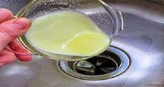 Receita natural para limpar e eliminar cheiro ruim de ralos de pia – | Receitas…