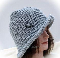 Fescher Hut mit Herz  Sportgarn von Ulemo auf Etsy, €24.80